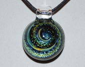 Trippy Heady Pendant - Dicro Glass Jewelry - Glass Pendant - Boro Lampwork Necklace