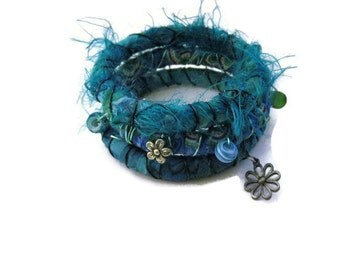 Boho Jewelry Bohemian Hippie Bracelets Gypsy Bangles