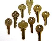 9 Vintage keys Old keys Antique keys Old house keys Rustic surfaces Great keys Variety of keys Steampunk keys Interesting writing  A1 #6