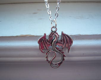 Dragon Necklace -  Mother Of Dragons Necklace - Tribal Necklace -Free Gift With Purchace