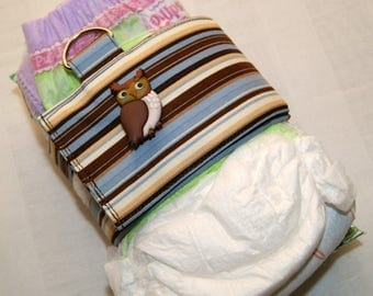 Strap for Diaper and Wipes, Baby Changing Accessory, Diaper Bag Organizer, Stroller Clutch, Baby Shower Gift, Toddler Changing