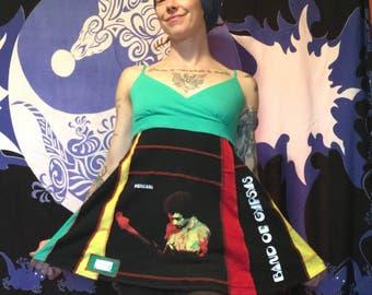Jimi Hendrix Band of Gypsys tank top tunic ooak upcycled
