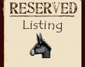 Private listing for David