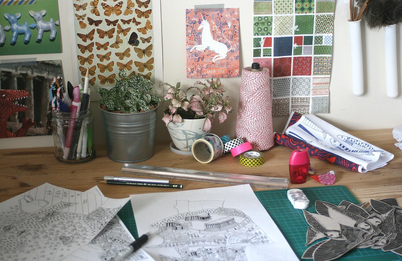 Lila Ruby King studio