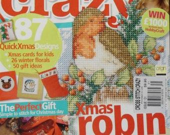 Cross Stitch Crazy Magazine Christmas 2009 Issue 131