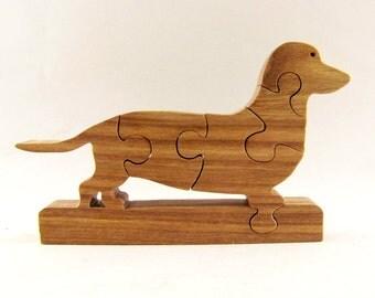 Dachshund Dog Puzzle