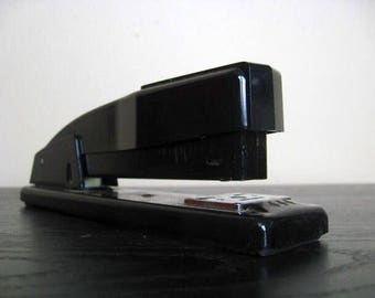 Industrial Chic. Jet Black SWINGLINE Stapler.