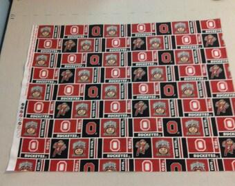 Ohio State Buckeyes Fabric 247716