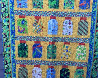 Bug Jar Childs Quilt