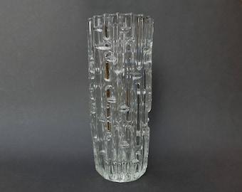 SKLO UNION - Rudolfova Hut Vase des by Frantisek Vizner - Mid Century Modern