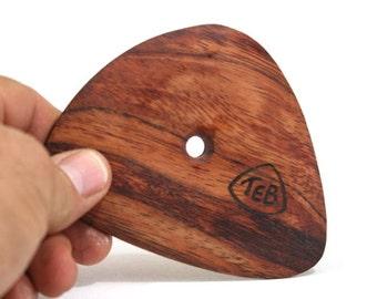Large Soft Cornered Triangular Pottery Rib, Bubinga Bowl Rib