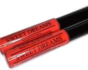 SWEET DREAMS Matte Liquid Lipstick Coral shade