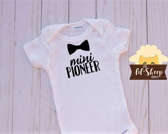 Baby Onesie/Bodysuit/ Baby gift/ Baby shower/Infant/Baby Clothing /JW/Mini Pioneer/Ministry clothes/ Coming Home Outfit