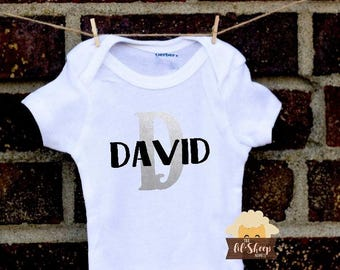 Baby Onesie/Bodysuit/ Baby gift/ Baby shower/Infant/Baby Clothing /Personalized With Name/ Coming Home Outfit