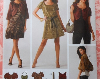 Dress and Jacket Sewing Pattern UNCUT Simplicity 3533 Sizes 6-14