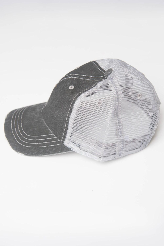 White baseball caps for crafts - Denim Trucker Hat Womens Hat No Flowers Levi Distressed Hat Denim Hat Black