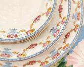 33 Piece set of English Bone China by W.M. Grindley Royston Pattern