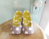 Shoe Pattern - PDF  - Vintage Flair Flats child size 7 - 12