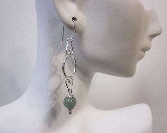 Bella's Jade Earrings