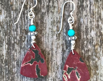 Jasper with Turquoise