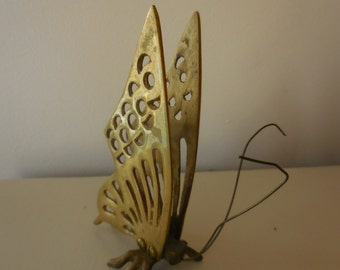 Adorable Brass Butterfly