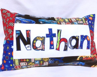 Cars - Personalized Pillow