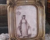 french market holy mary religious petite frame