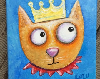 Cat Royale Painting