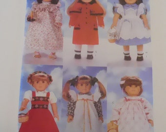 18 inch doll clothes pattern Butterick 4699 fits American Girl doll