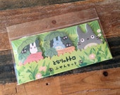 Totoro Die-Cut One Point Sticker / Index / Bookmark / Sticky Memo for scrapbooking, gift message, Bookmark