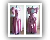 Vintage 80s party prom dress by Jordan 80s vintage dress, vintage bridesmaid