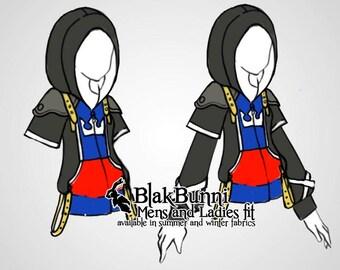 DESIGN ORDER - Kingdom hearts Sora inspired cosplay hoodie