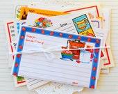 Vintage Recipe Card Pack / 10 Pieces / Paper Ephemera / Planner Supply