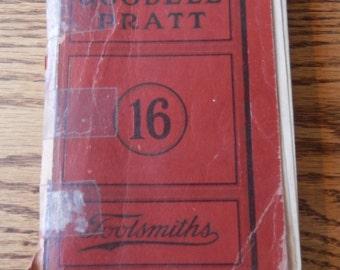 antique Goodell Pratt catalog 16 from 1928 tools