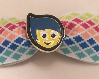 SALE! Joy from Disney-Pixar's Inside Out hair bow - Disney World - Disneyland - pin trading