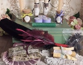 Witch's Spell Box, Witch Charm Box, Smudging Box, Altar Box, Ritual Supplies, Spell Box, Witch Box