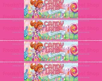 Candy Land Bottle Wrap PDF file