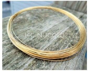 Nugold Wire 14 Gauge  Round Dead Soft 5-25 Feet