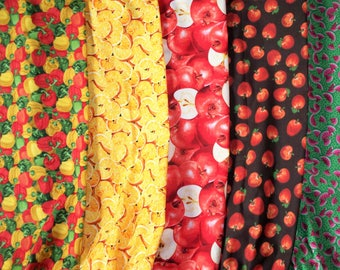 One Plastic Bag Holder, Your Choice: Peppers,Apples,Oranges,Watermelon, RTS, Handmade Fruit Selection