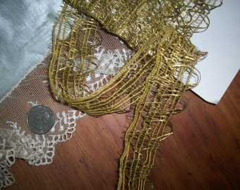 Lacey French antique gold  metal trim