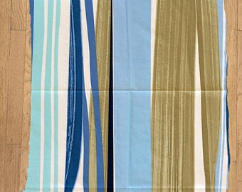 Marimekko Fabric Remnant Fujiwo Ishimoto Matkalla Maalle 57 x 27 inches