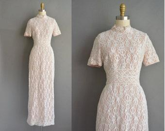 70s bohemian crochet lace wedding dress. vintage 1970s dress