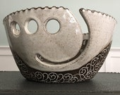 Large Yarn Bowl - The Desire To Create Is One Of The Deepest Yearnings Of The Human Soul