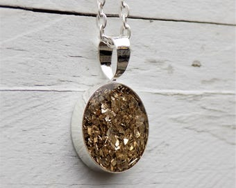 Charm Necklace, glitter, gift for her, etsy jewelry, pendant, women accessories, jewelry, silver necklace, sparkle, gold