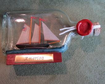 Ship in a Bottle America