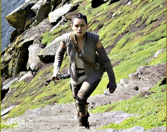 Rey Resistance Complete Cosplay! Vest, Top, Double Gauntlets, Capris & Leather Holster - Star Wars - Rebel Legion - Perfect!