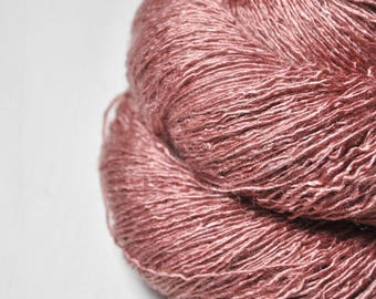 Forgotten brick ruin - Tussah Silk Lace Yarn