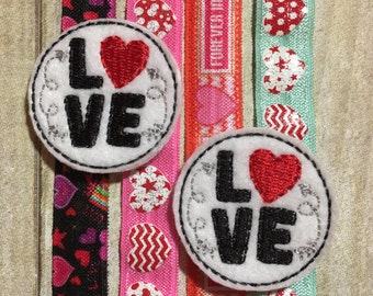 Valentine Planner Band - Love Circle on your Choice of Band