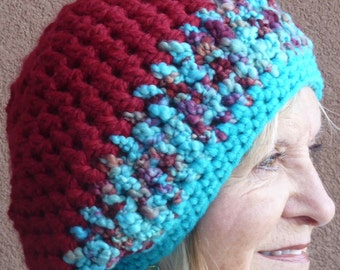 Slouchy winter hat women's fashion winter ski accessories winter hat