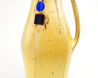 Pitcher with Primary Colored Shapes